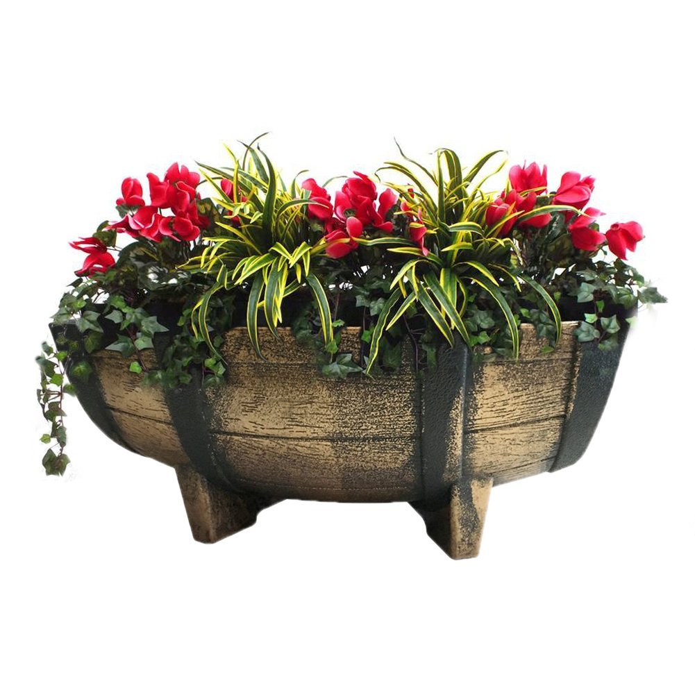 drain site detail planter bioretention lot lid